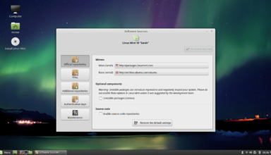 Mint Software Sources