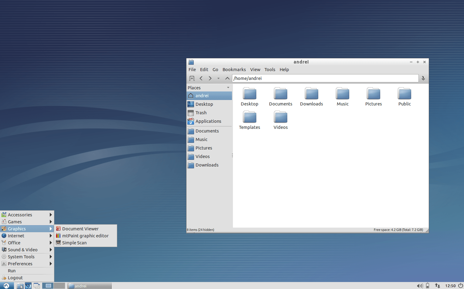 Lubuntu Desktop with LXDE