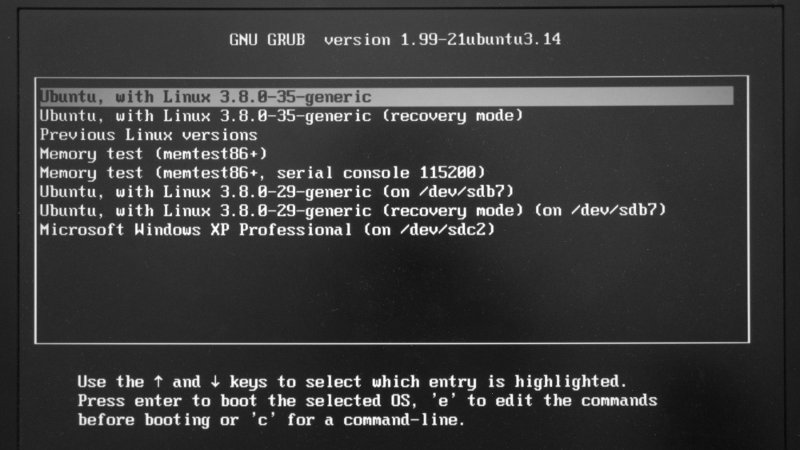 GRUB Bootloader