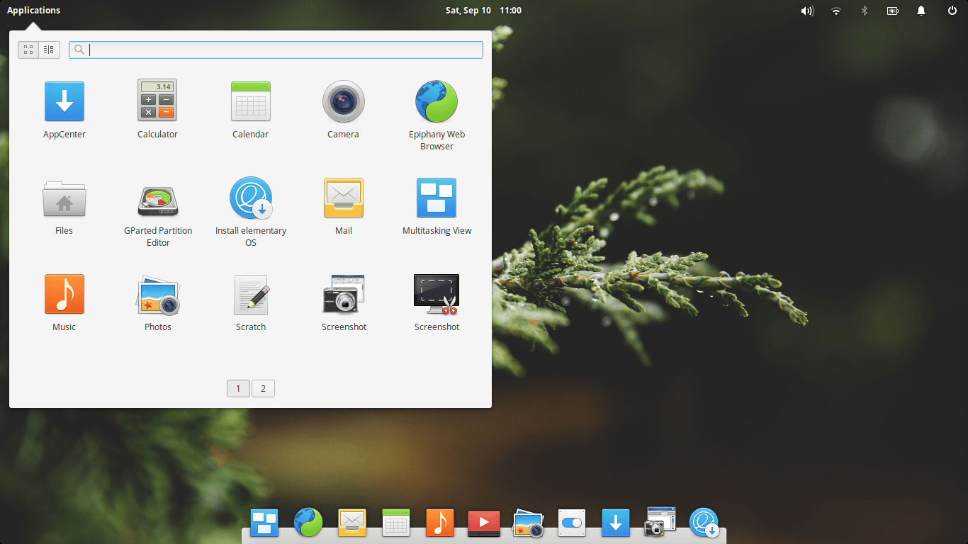 Elementary OS 0.4 Loki Application Menu