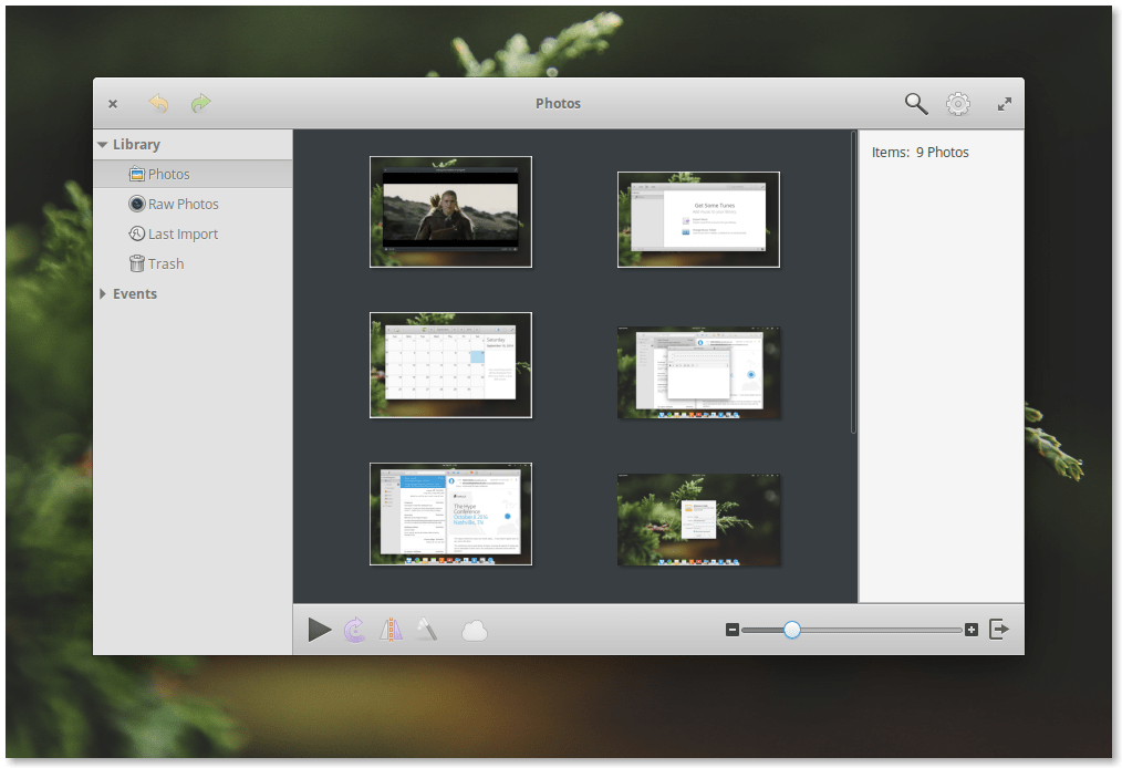 Elementary OS 0.4 Loki Photos