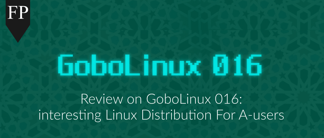 gobolinux 1 January 22, 2017