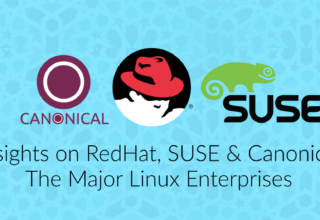 Major Linux Enterprises; Redhat, SUSE & Canonical