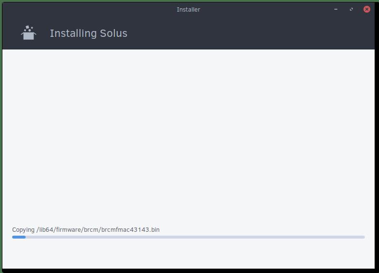 Solus Installation