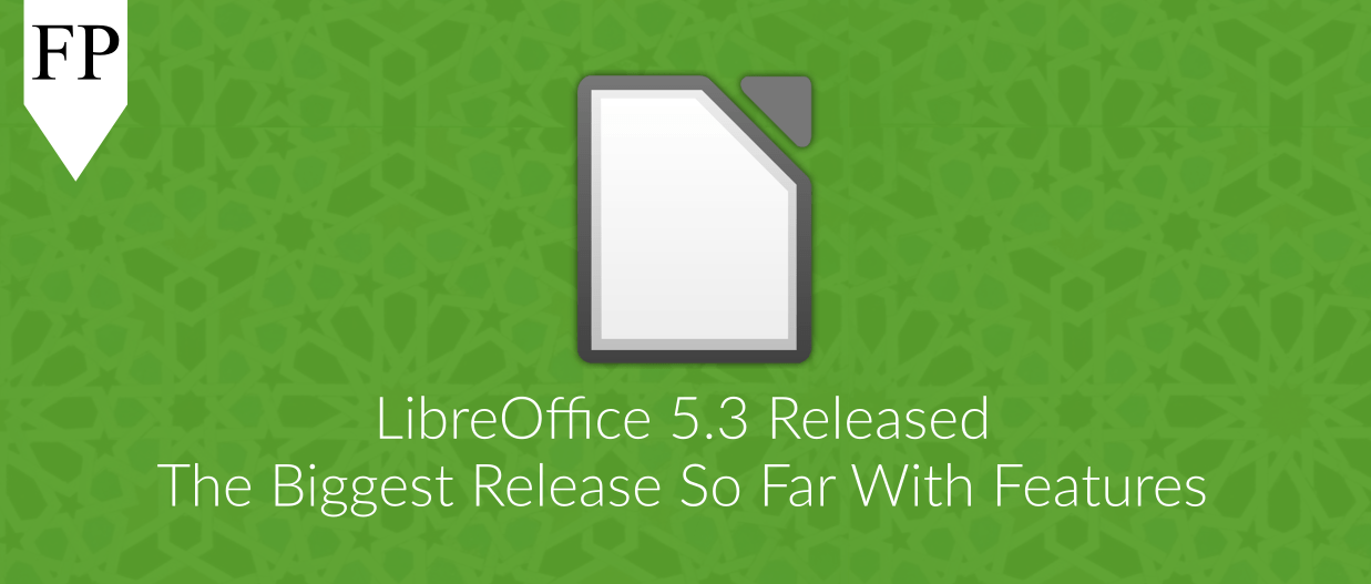 libreoffice 5.3 11 February 1, 2017