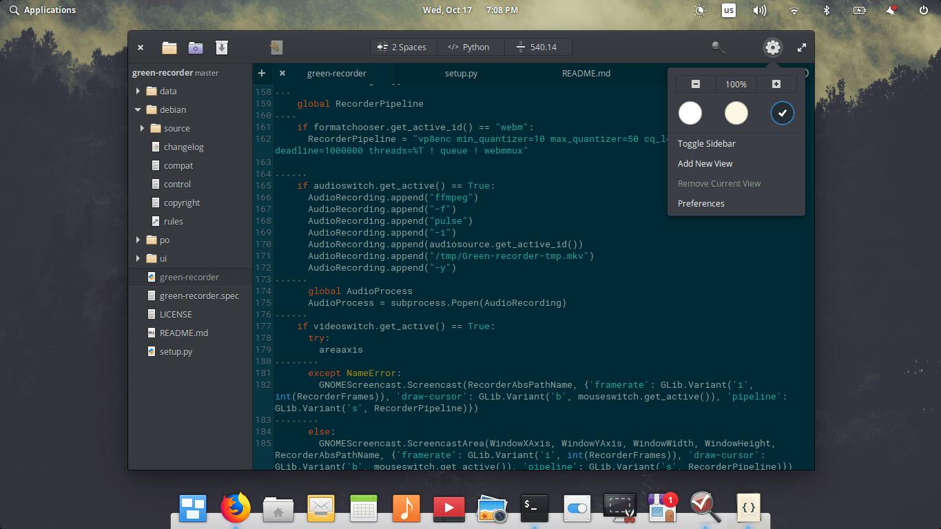 elementary OS 5.0 Juno Code Program
