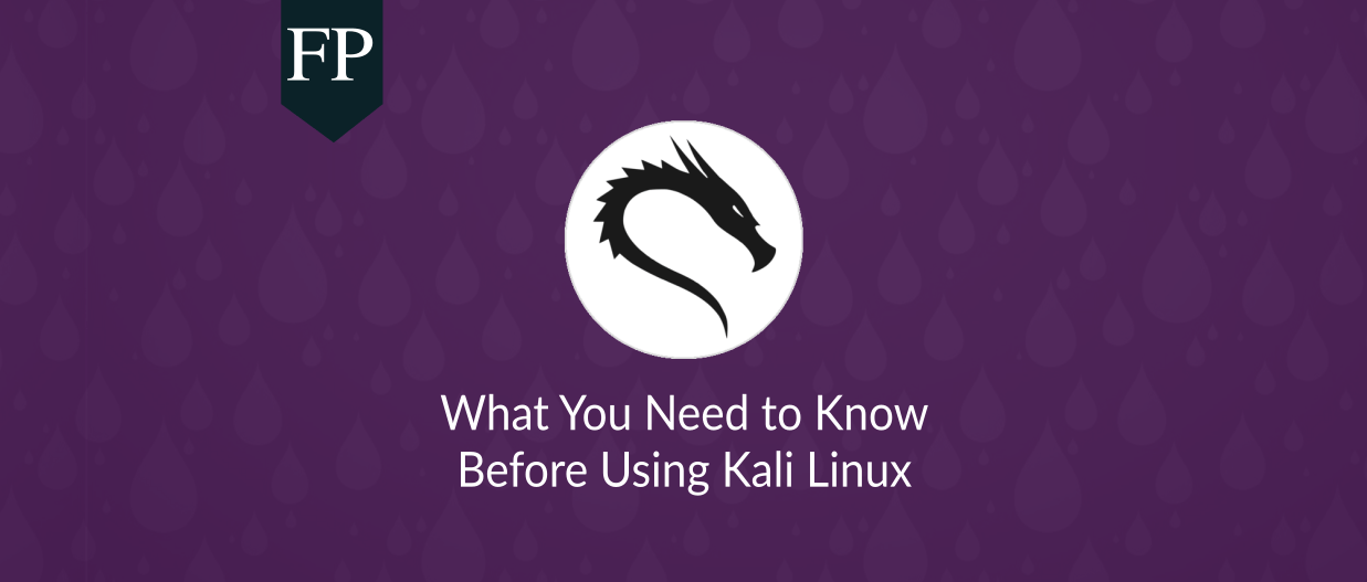 Kali Linux: What You Must Know Before Using it 30