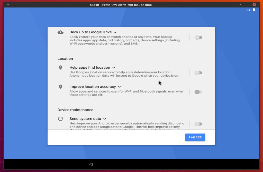 23 android 8.1 oreo on linux
