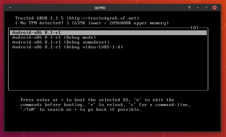 11 android 8.1 oreo on linux