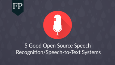 5 Good Open Source Speech Recognition/Speech-to-Text Systems 91