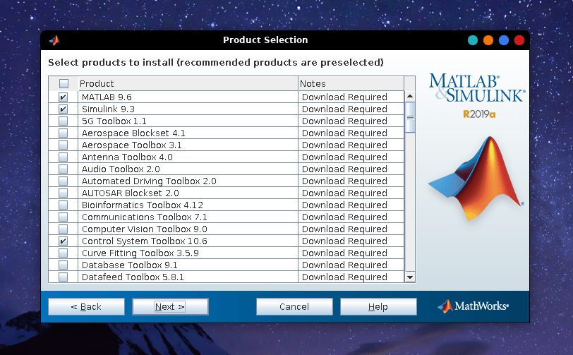 install matlab on linux 13 June 6, 2019