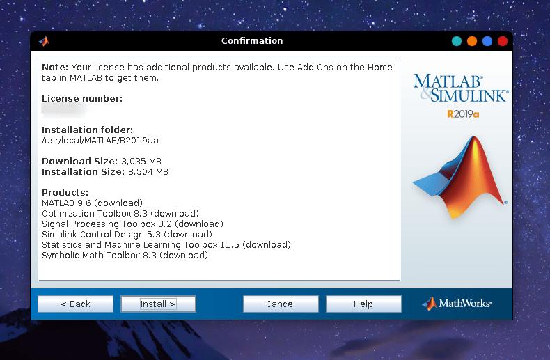 install matlab on linux 17 June 6, 2019