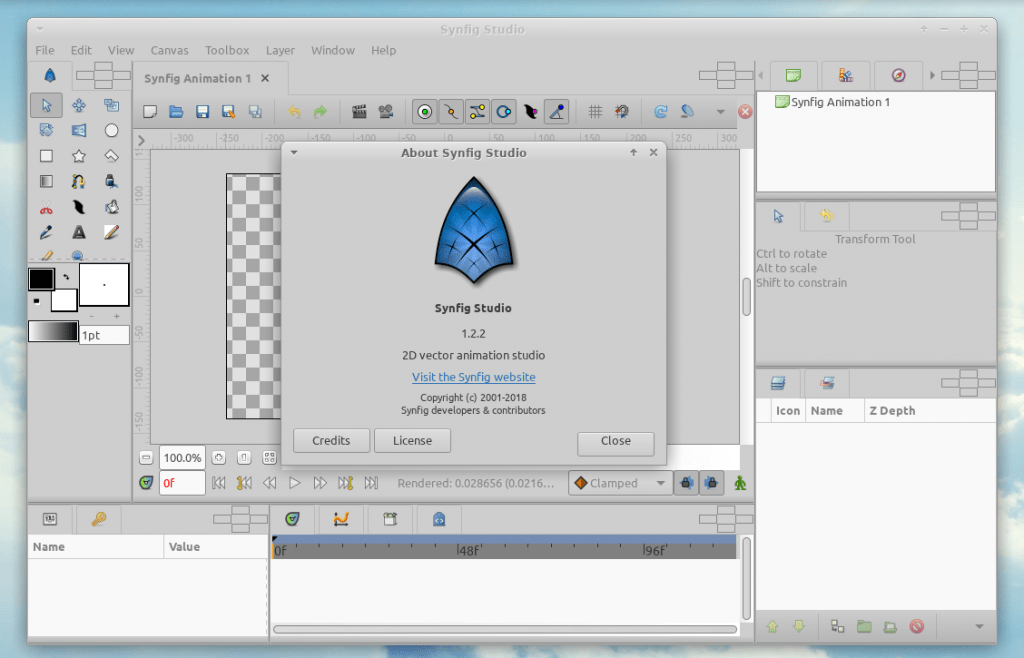 Open Source 2D Animation Software 1 June 26, 2019