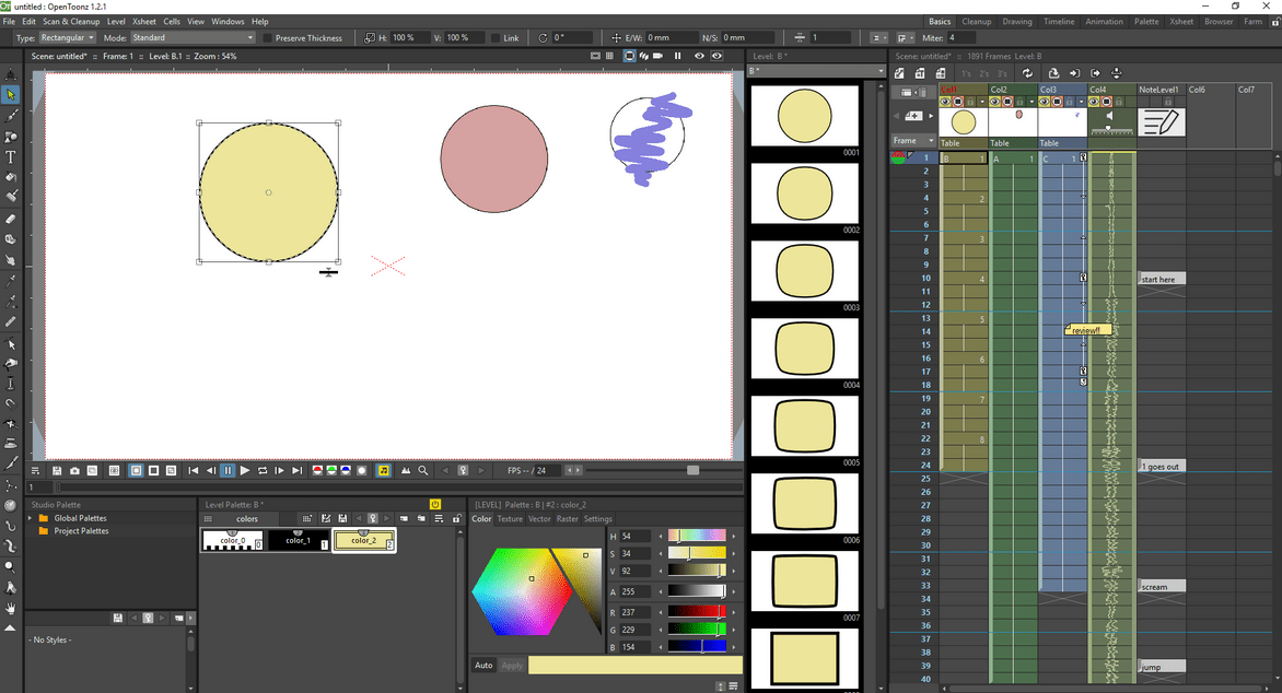 3 Open Source 2D Animation Software