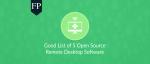 open source remote desktop 193 June 21, 2019
