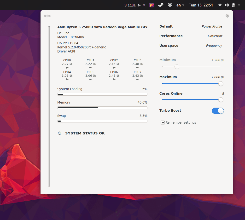 AMD Linux 9 July 15, 2019