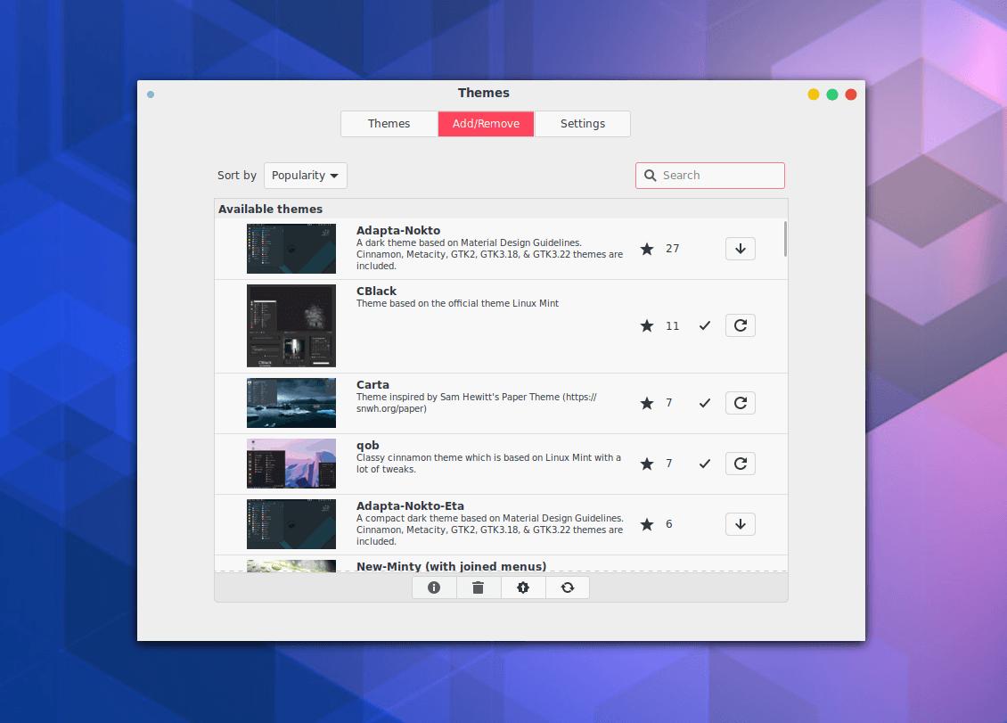 A Dive Inside Cinnamon, an Overlooked Linux Desktop 27