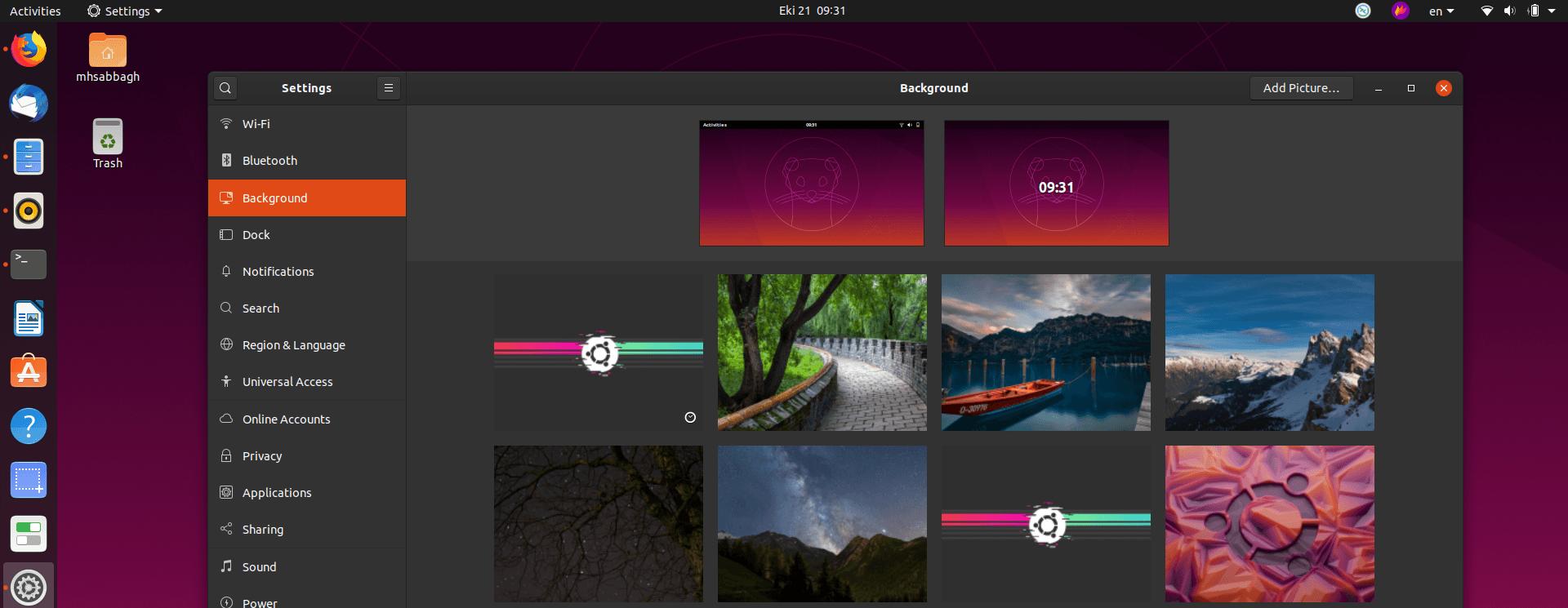 Ubuntu 19.10 161 October 21, 2019