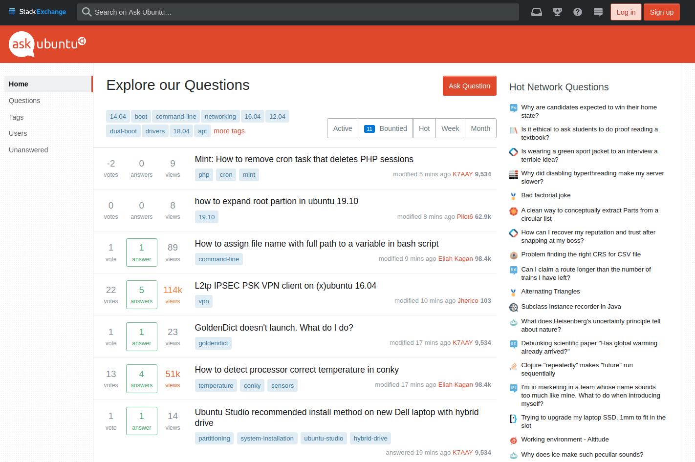 ubuntu 10 March 6, 2020