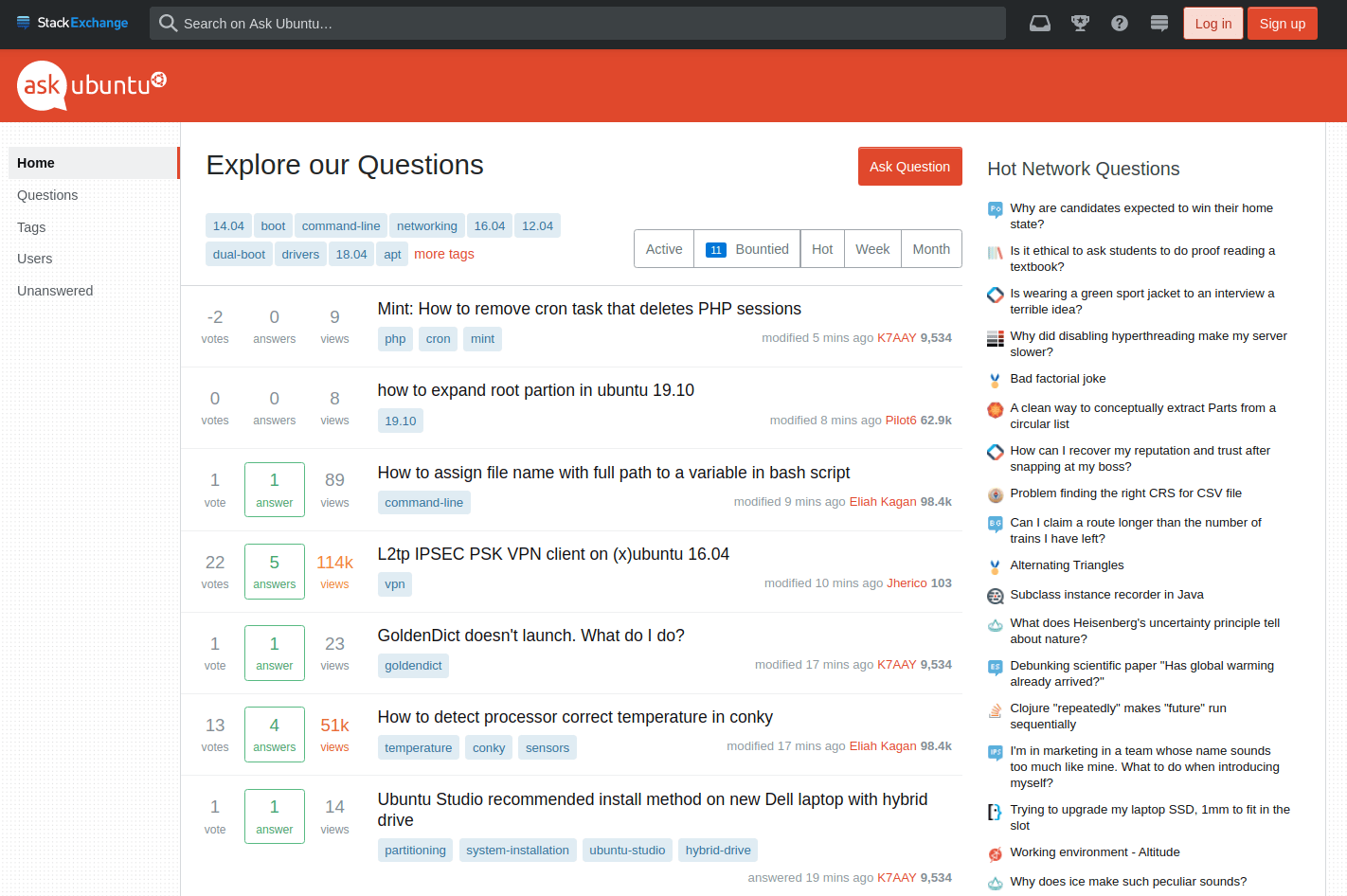 1 ubuntu