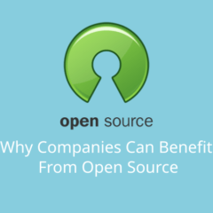 Why Companies Can Benefit From Open Source 39 November 17, 2020