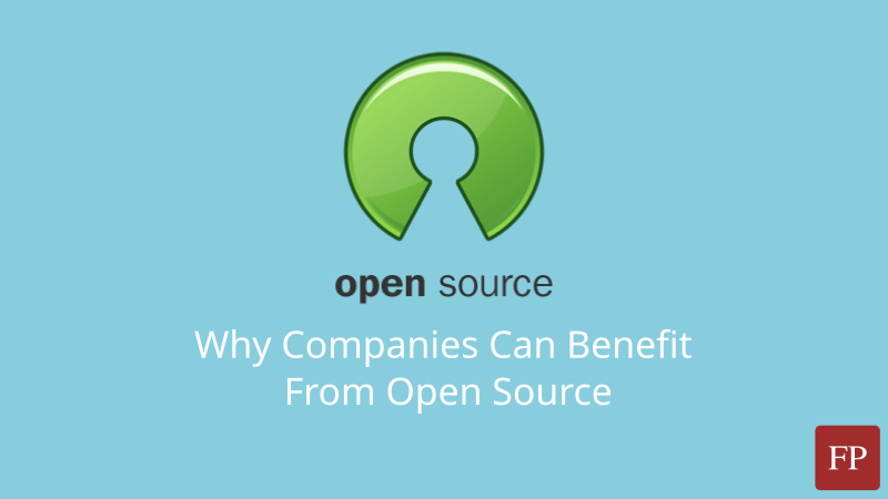 Why Companies Can Benefit From Open Source 41 November 17, 2020