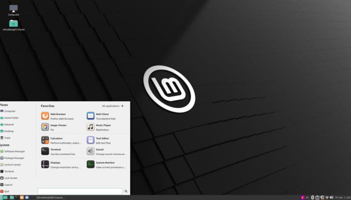 Linux Mint 12 January 2, 2021