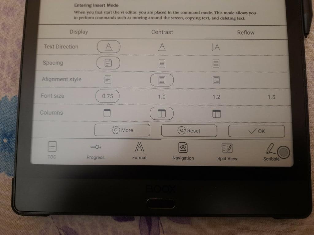 Onyx Boox Note 3 83 September 8, 2021